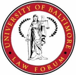 University of Baltimore Law Forum